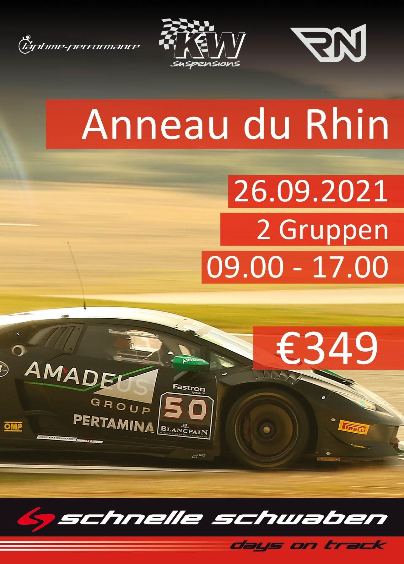Anneau du Rhin Training 26.9.2021