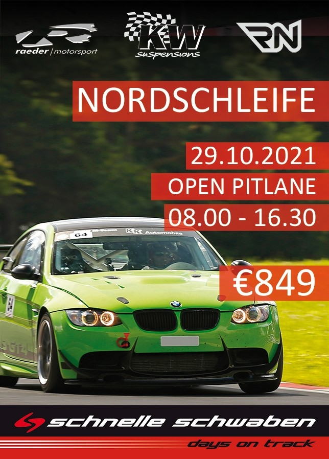 Nordschleifen Training 29.10.2021