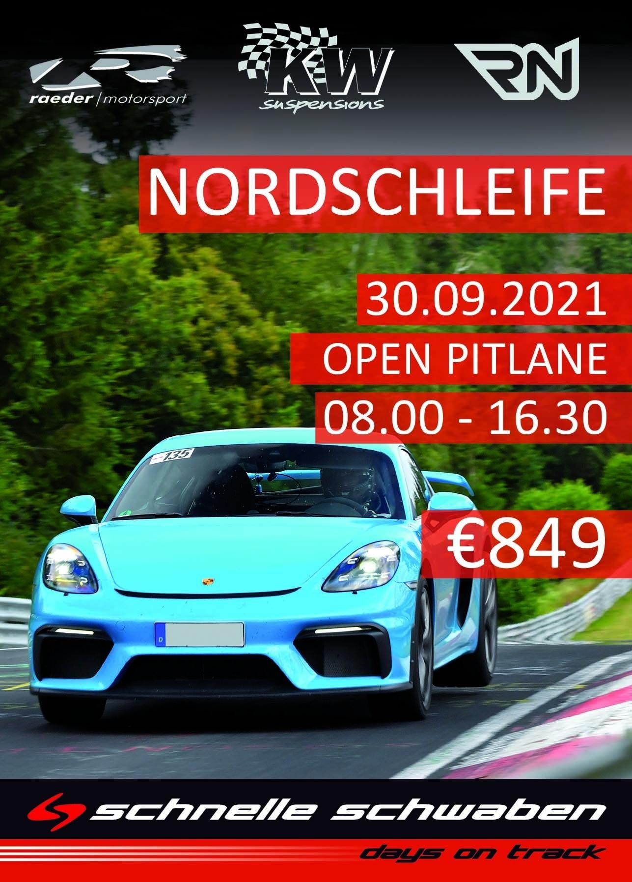 Nordschleifen Training 30.9.2021